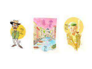 Le fantasie delle shopper d'autore dell'illustratore Niccolò Storai
