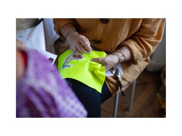Laboratorio di arte tessile 'Profili d'istanti - Vivian Maier' a trieste il 21 settembre 2019