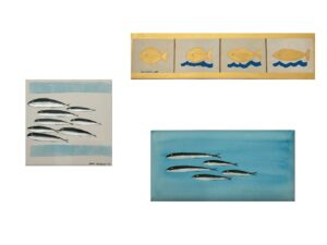 Acrilico ed inchiostro su tela dell'artista Zeno Travegan