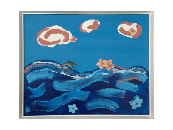 Sunflower in the sea dell'artista Zeno Travegan