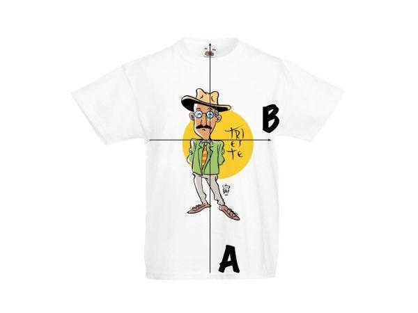 Misure T-shirt d'autore bambino dell'illustratore Niccolò Storai