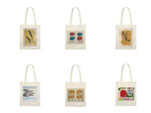 Collage Shopper d'autore dell'artista Zeno Travegan