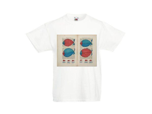 T-shirt d'autore bambino dell'artista Zeno Travegan