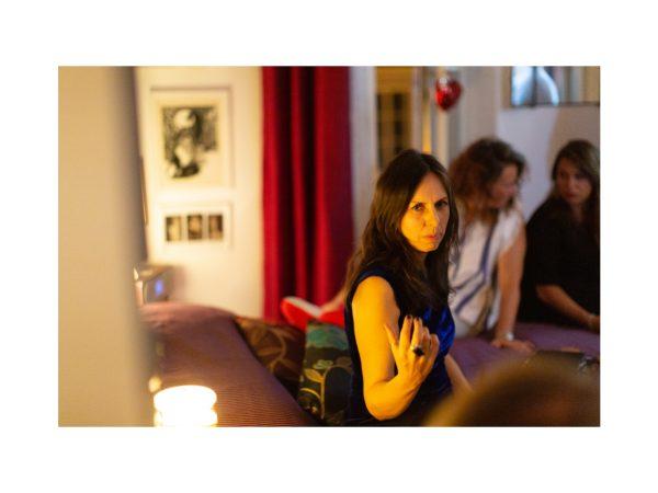 àbito 02 Cena d'artista con Barbara Stefani