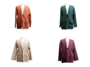 Giacca kimono Pastrano in vari colori
