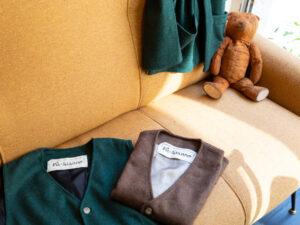 Gilet Pà-Strano colore verde e marrone
