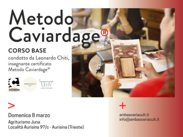 Poesia nel Corso Base del Metodo Caviardage l'8 marzo 2020 ad Aurisina Trieste
