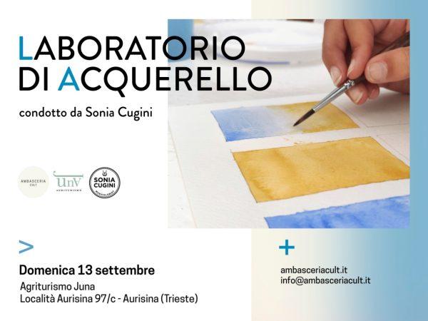 Laboratorio di acquerello Domenica 13 settembre 2020 ad Aurisina (Trieste)