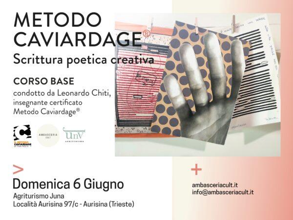 Corso Base del Metodo Caviardage del 6 Giugno 2021 a Trieste