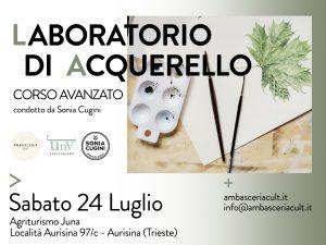 Laboratorio di acquerello_Corso avanzato_1333x1000px