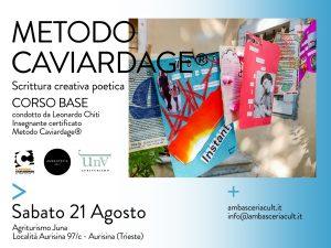 Corso Base Metodo Caviardage_Agosto 2021_1333x1000px